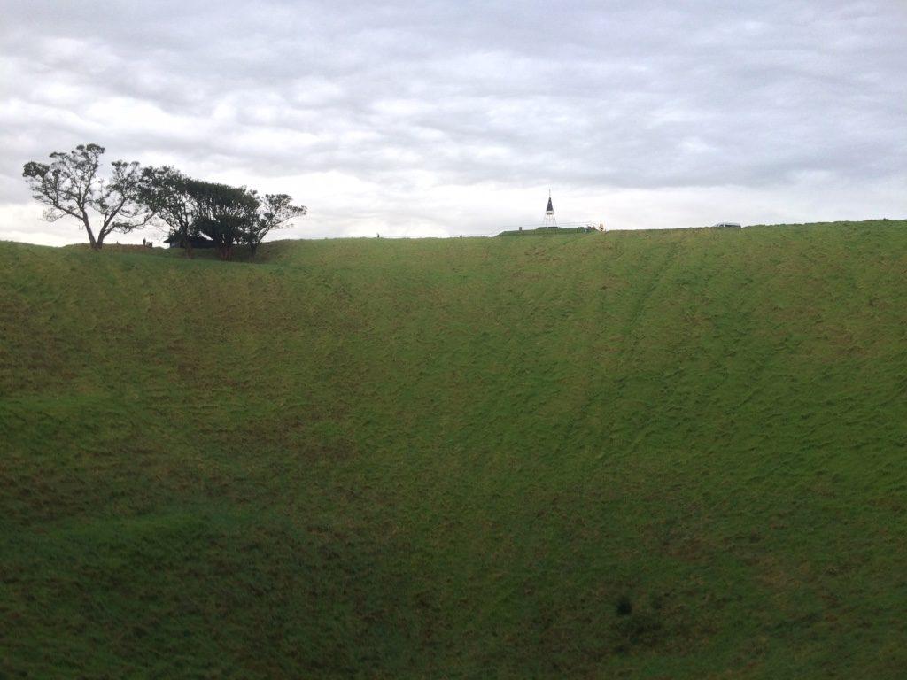 Mt Eden's crater