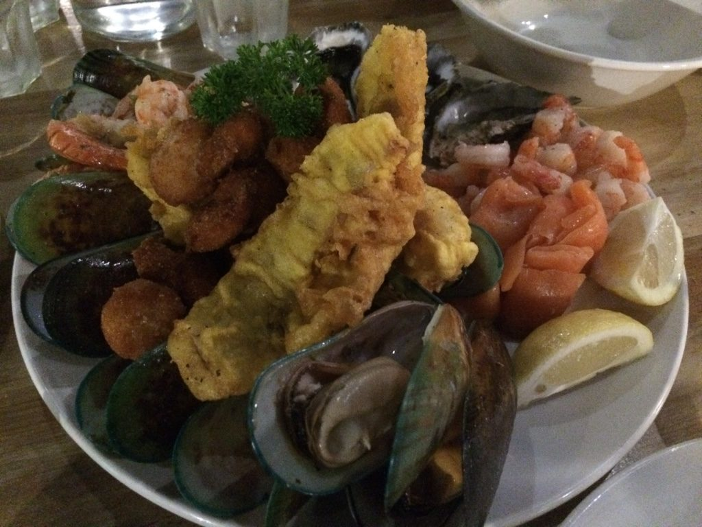 Our seafood platter for two