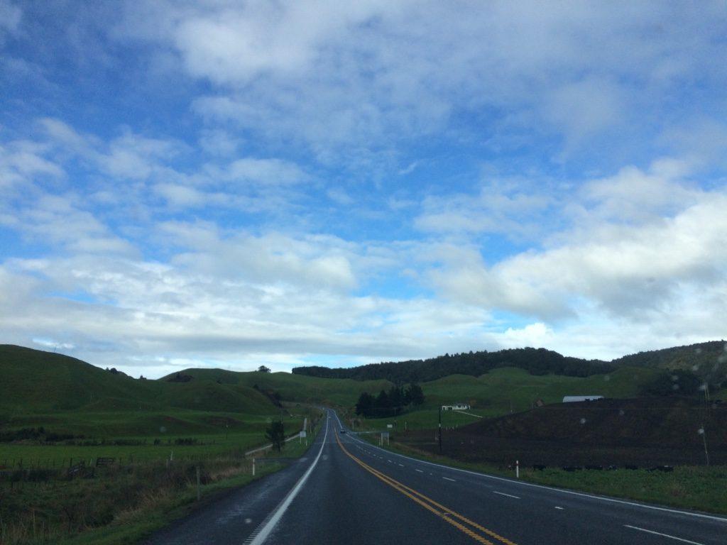 Highway from Rotorua to Waiotapu