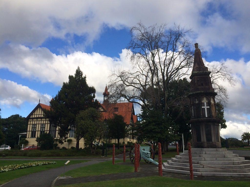 Rotorua Museum and Maori War Memorial