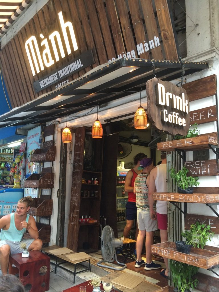 Manh Coffee shop