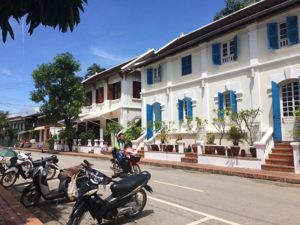 Buildings in Luang Prabang are so cute