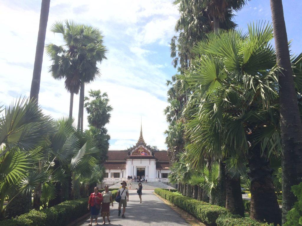 Luang Prabang Museum entrance