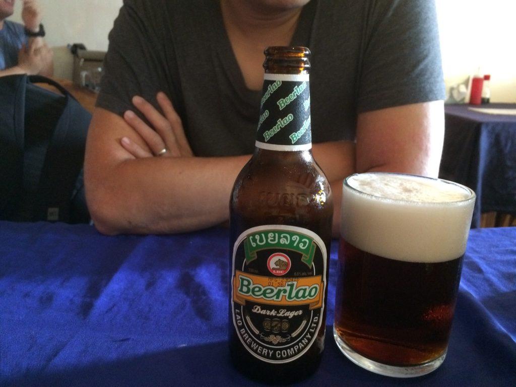 Tim's second Beer Lao