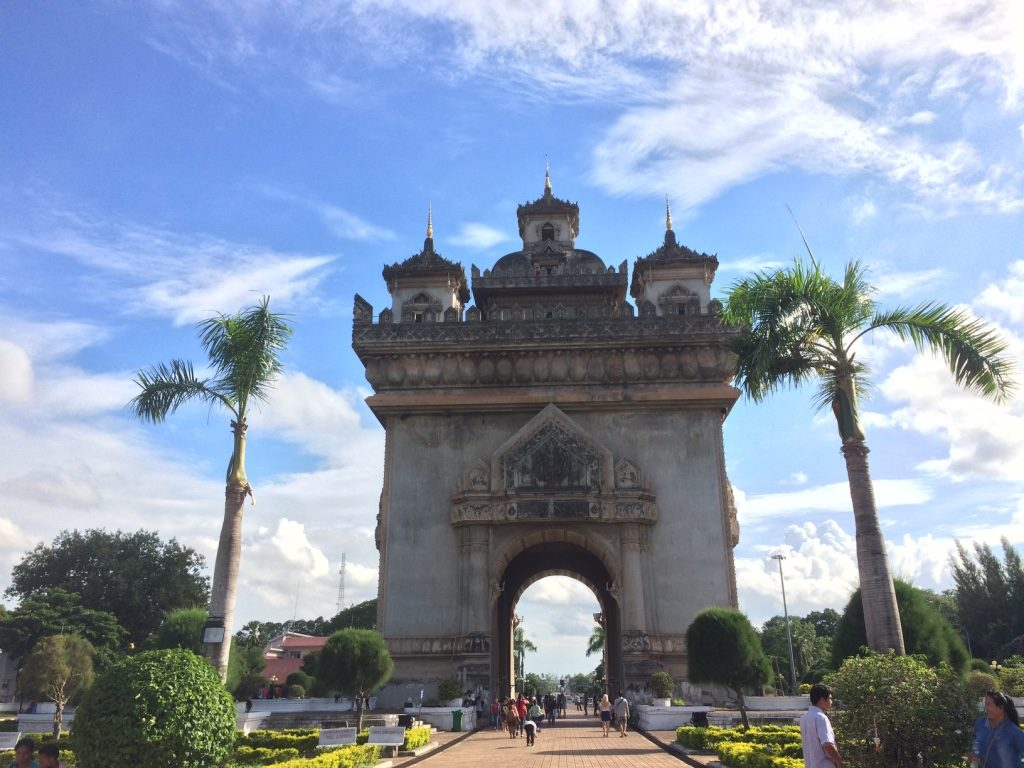 Vientiane's Arc de Triomphe
