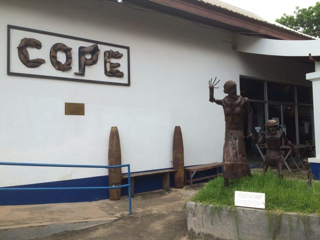 COPE Visitor Centre in Vientiane