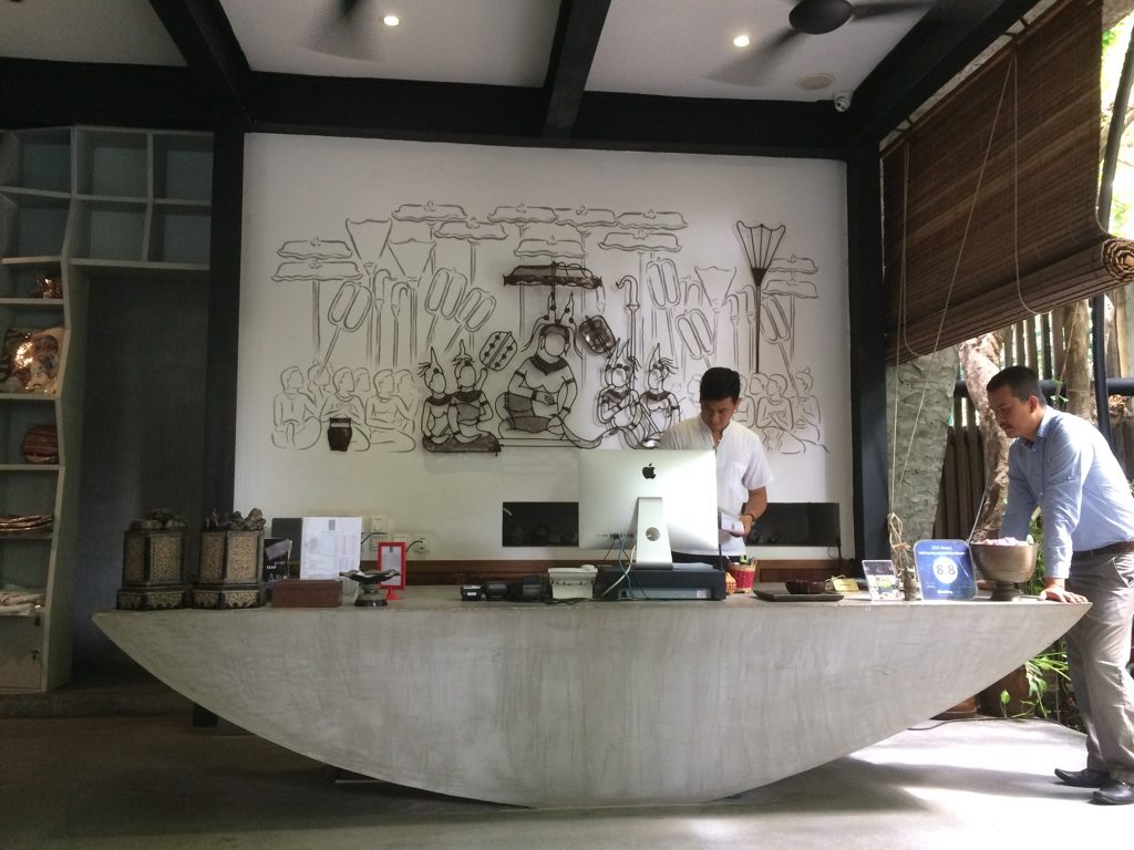 TEAV lobby