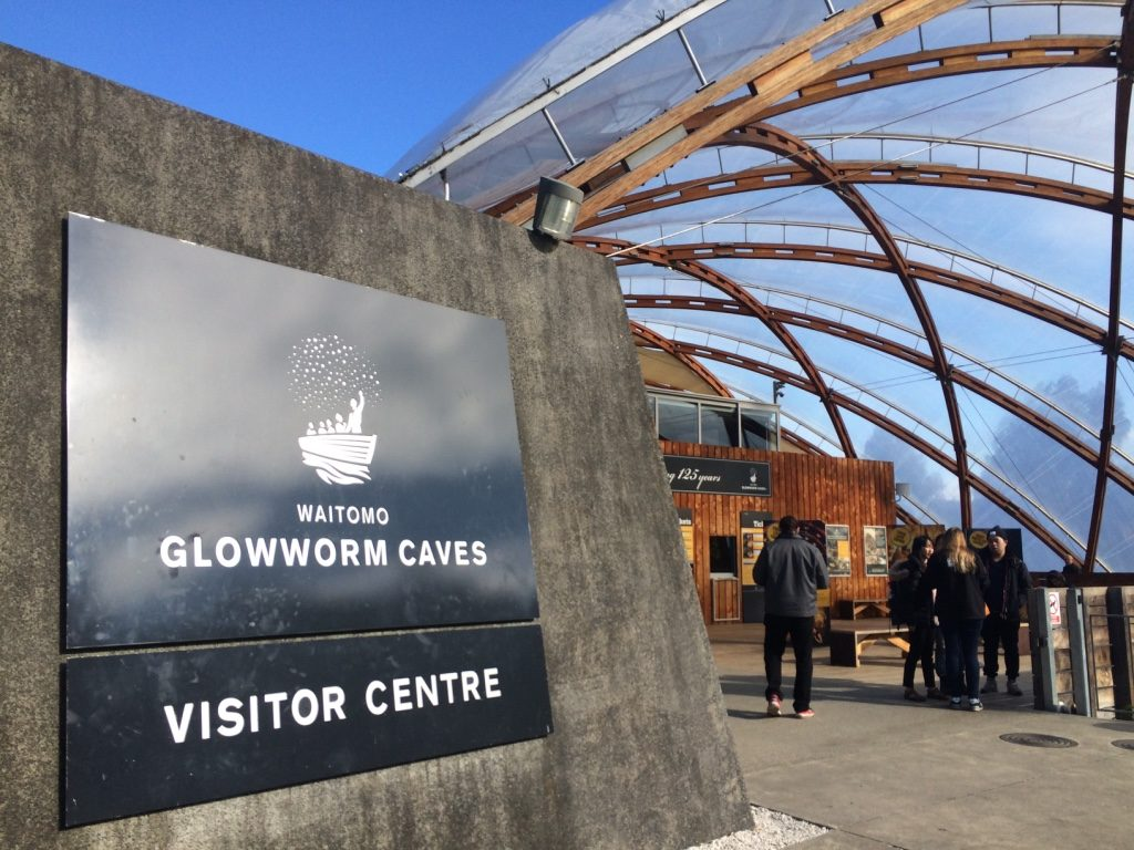 Entrance to the Glowworm Caves