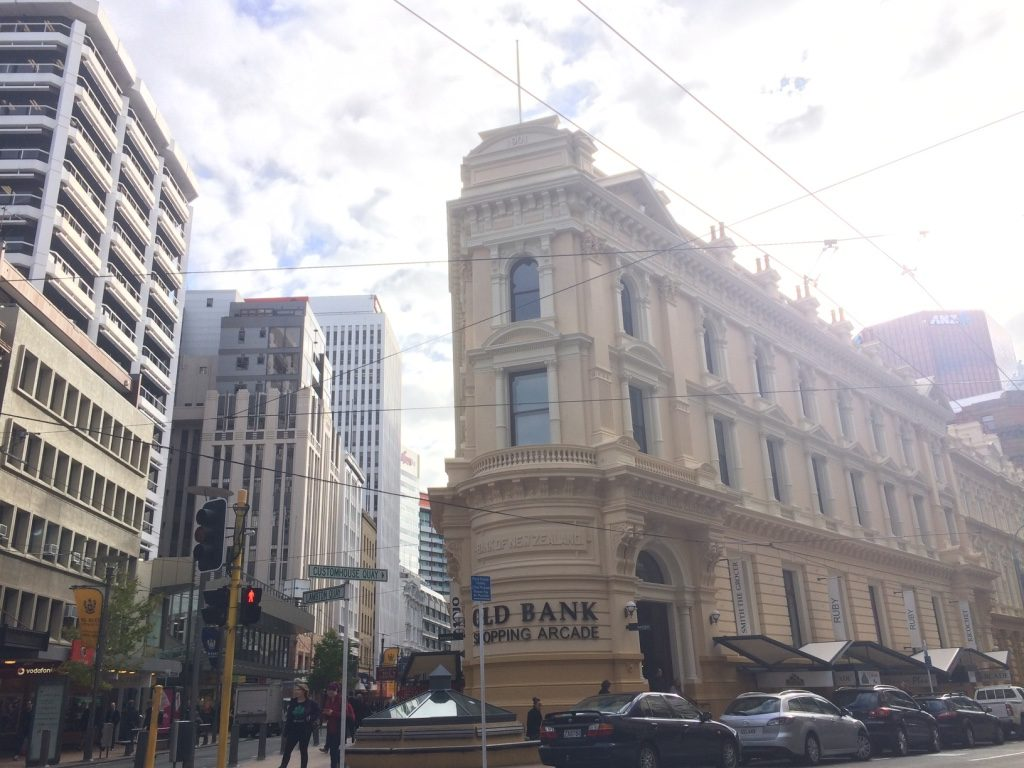 Old bank that is now a shopping arcade