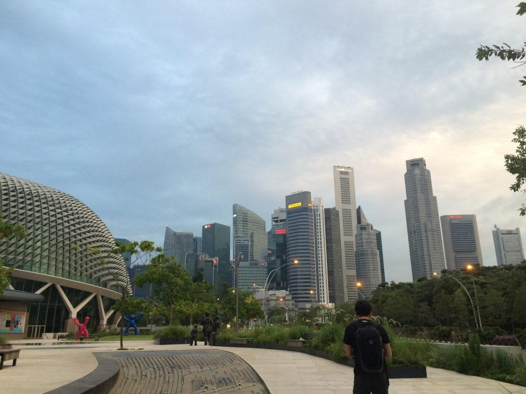 Most of Singapore is still asleep at 7am