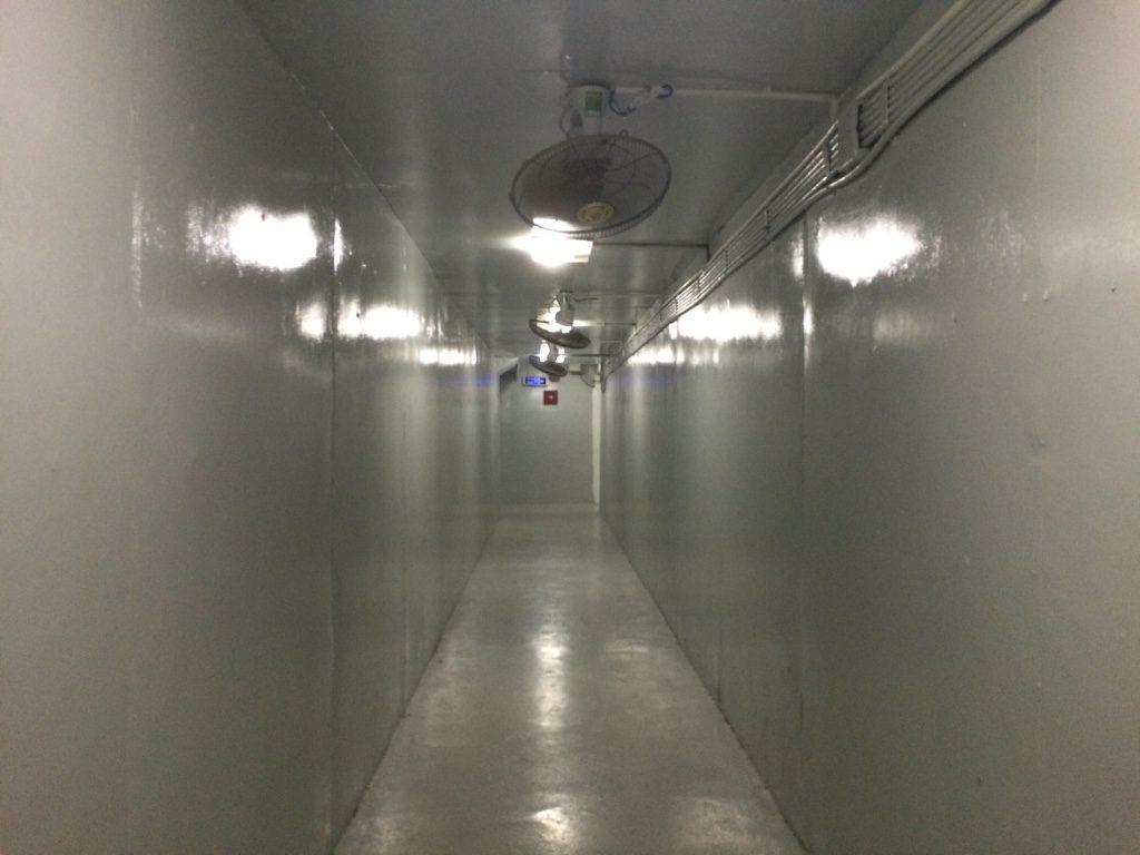 Bunker hallway
