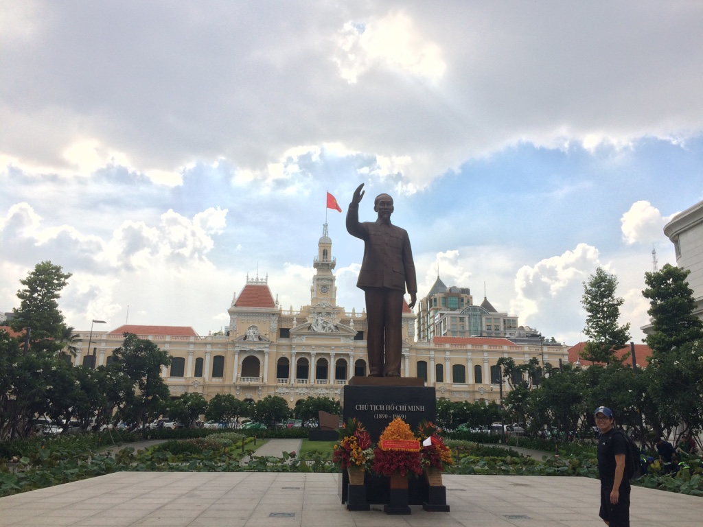 Ho Chi Minh City (Day 98): Independence Palace, Street Food, and Sweat