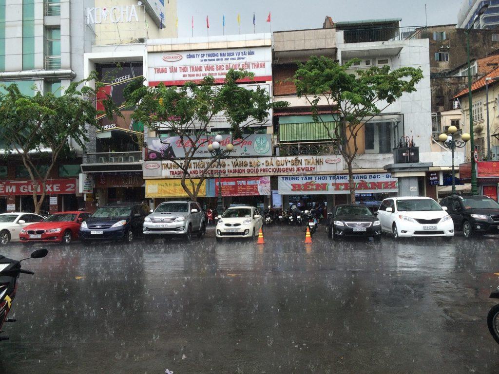 Crazy downpour