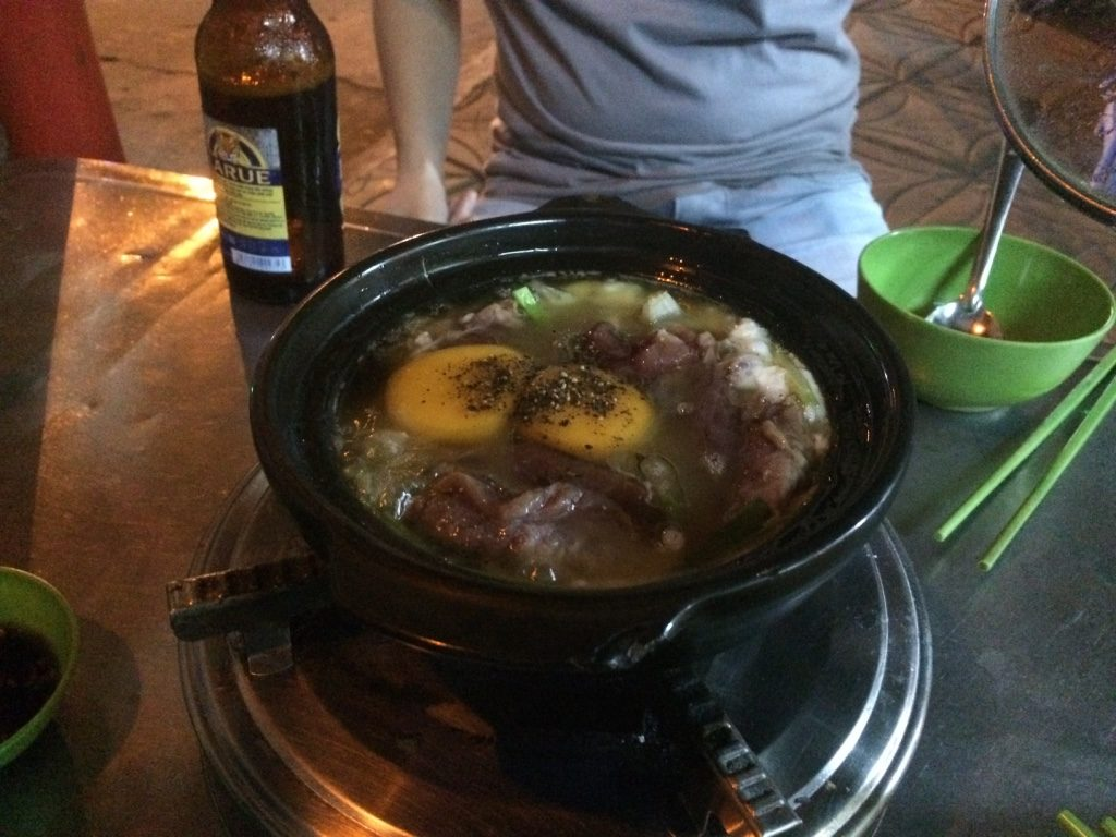 Beef and egg claypot (65,000 VND = $3.70 CAD)
