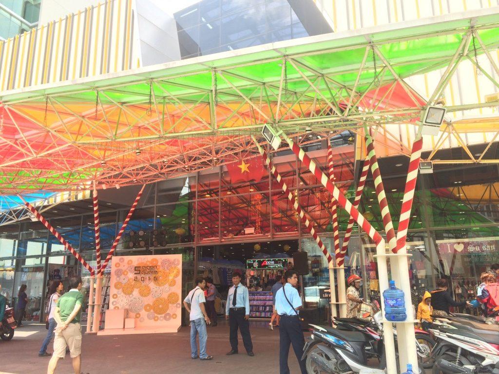 Saigon Square - a local clothing market where the vendors are way less aggressive than at Ben Thanh