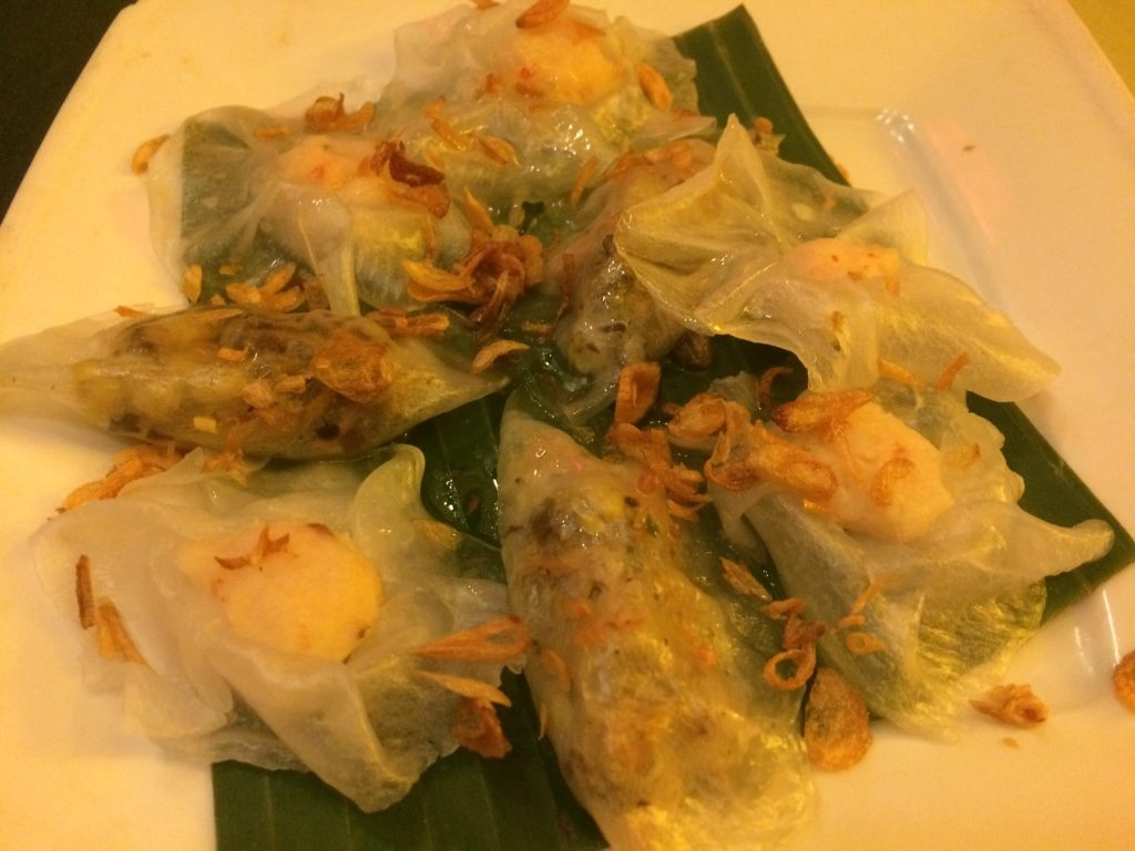 White rose dumplings, Hoi An specialty - 68,000 VND = $3.95 CAD