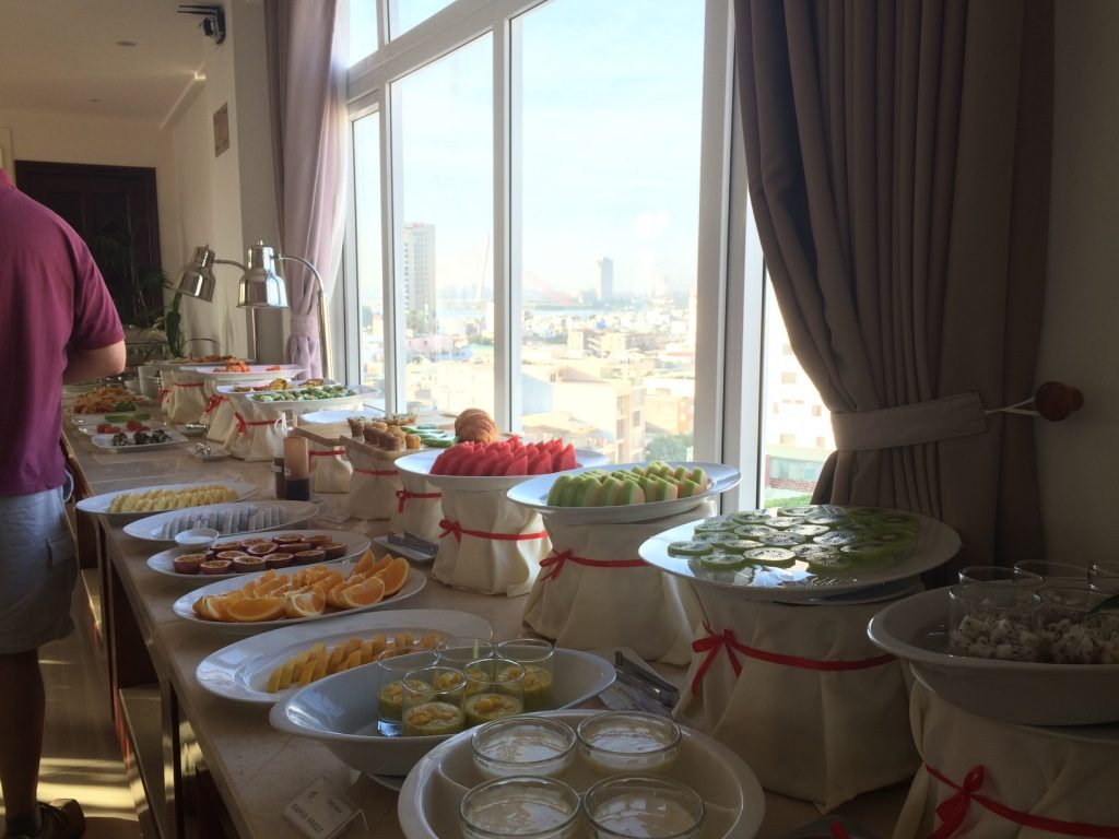 Good breakfast spread at Orange Hotel