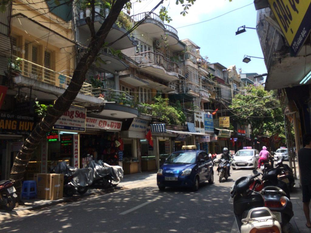 Hanoi's Old Quarter streets