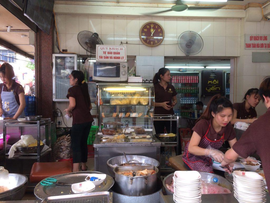 Xôi Yến (sticky rice) restaurant