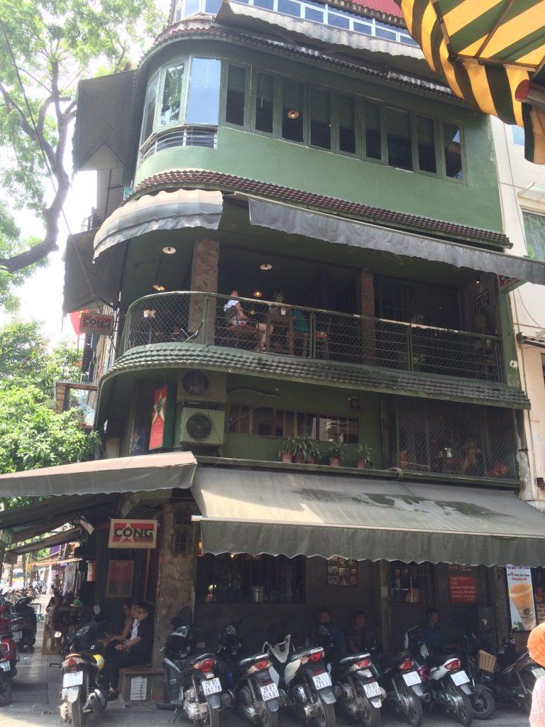 Cong Caphe in Hanoi