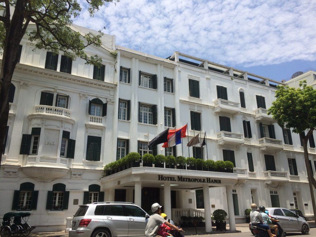 Sofitel Legend Metropole Hotel - Opened in 1901 and many celebrities and politicians have stayed here