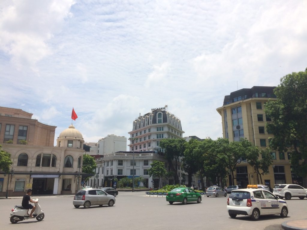 French Quarter in Hanoi is a nice clean break from the rest of the city's chaos