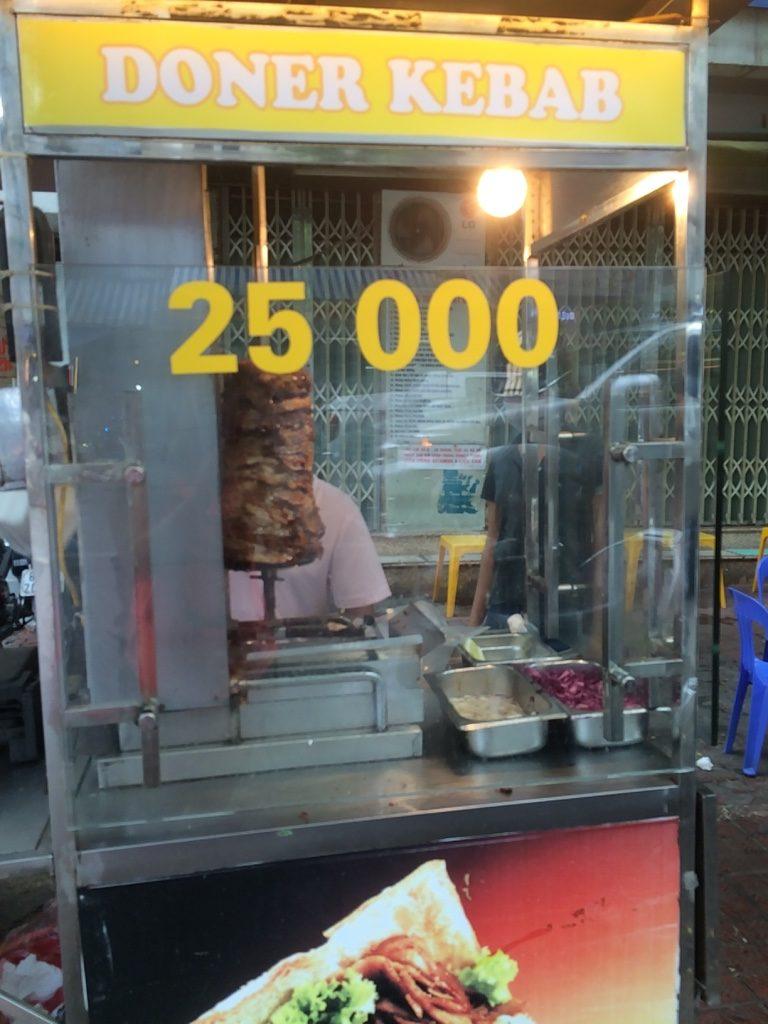 Doner Kebab stand