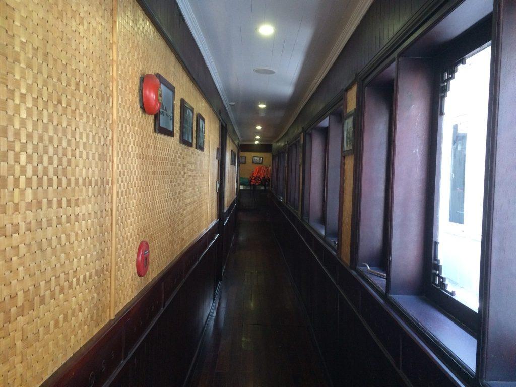 Cabin corridor