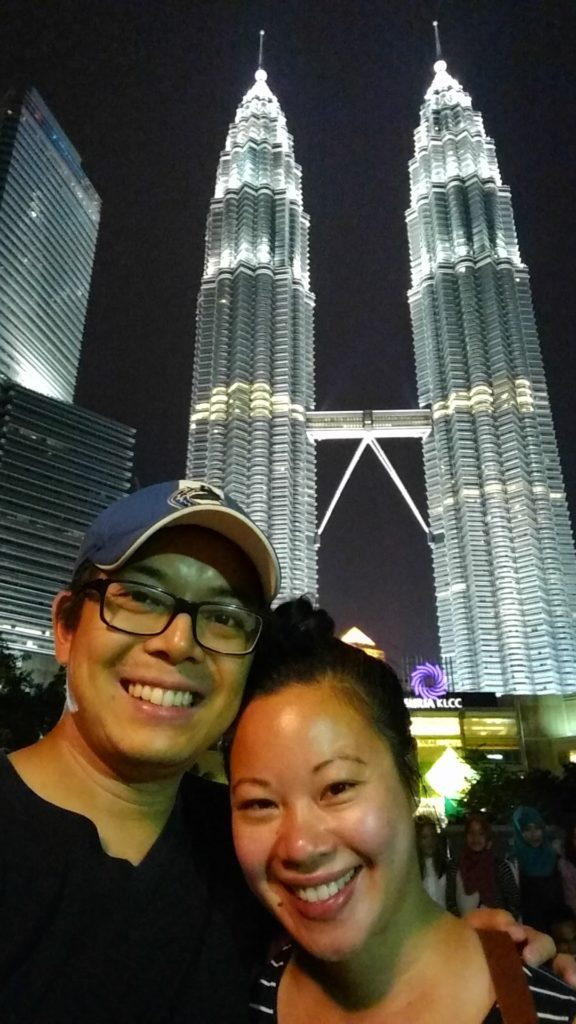 Last selfie with the Petronas Towers