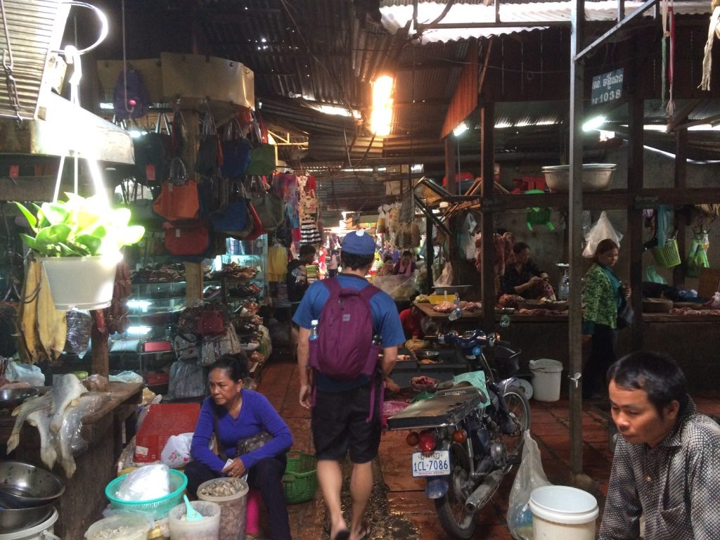 Walking through the maze of vendors