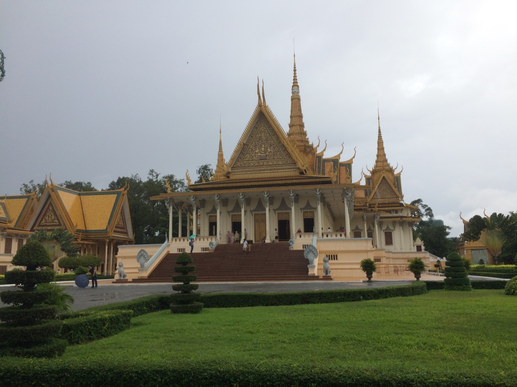 Phnom Penh (Day 122): A Rainy Royal Day and Three Markets