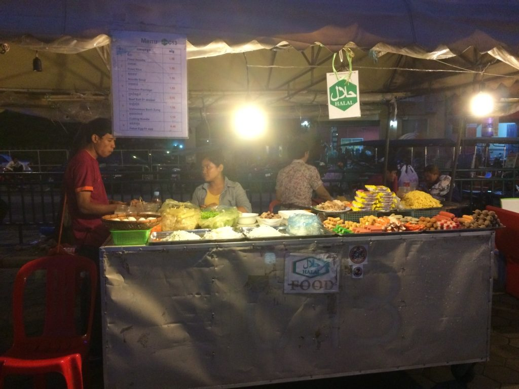 Noodle stand at the night market