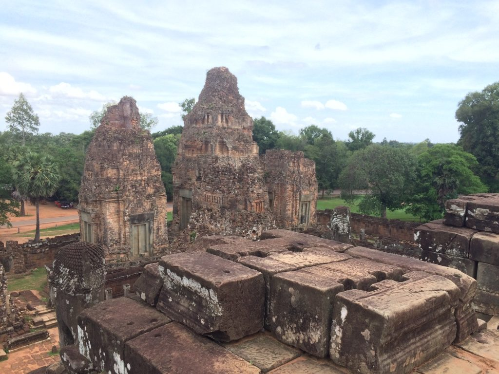 View from the top of East Mebon