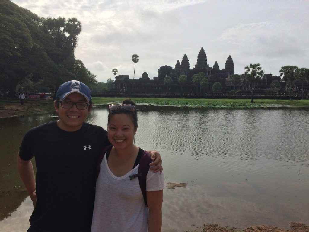 One last picture of Angkor Wat before leaving