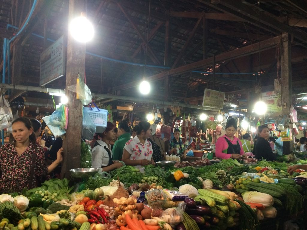 Where most of the action happens at the market