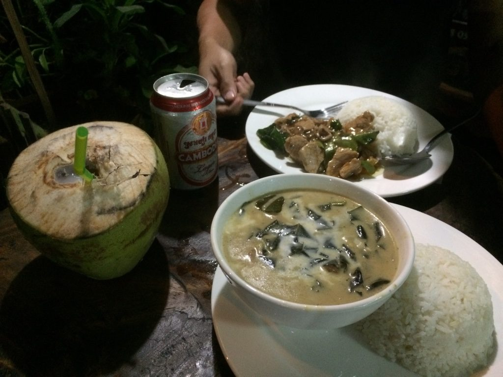 Our last dinner in Cambodia