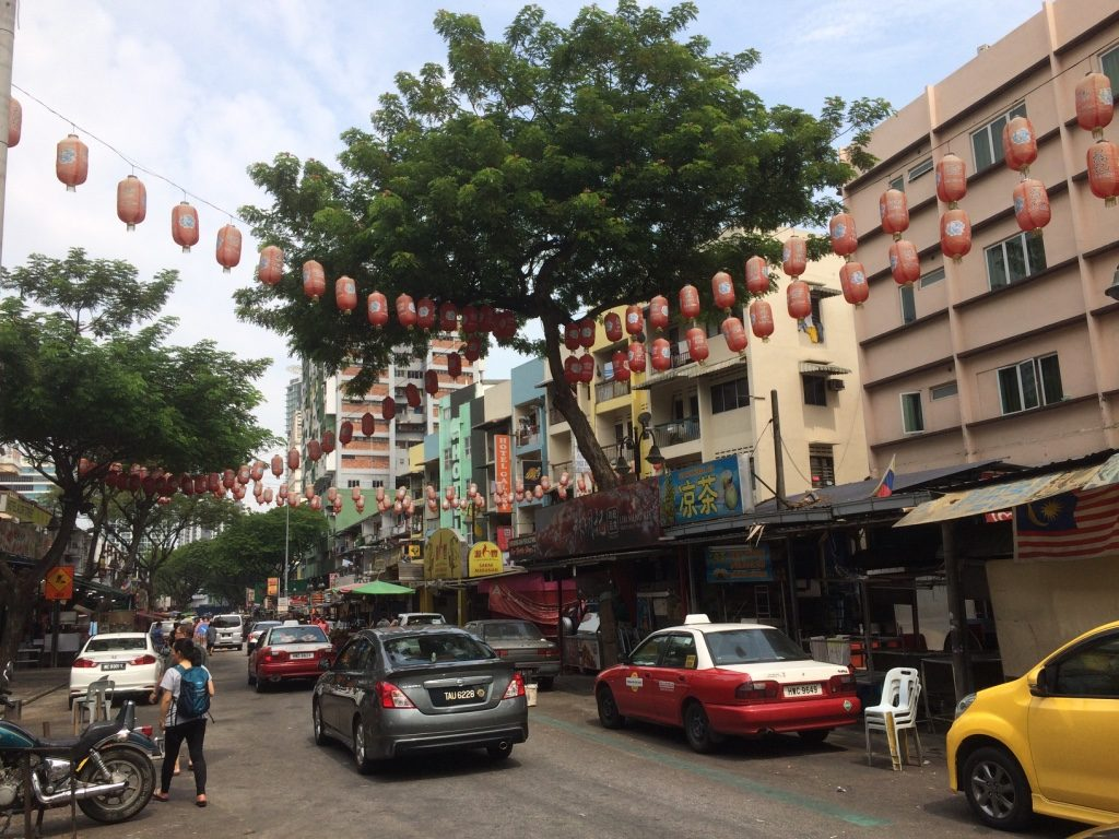 Jalan Alor at lunch time