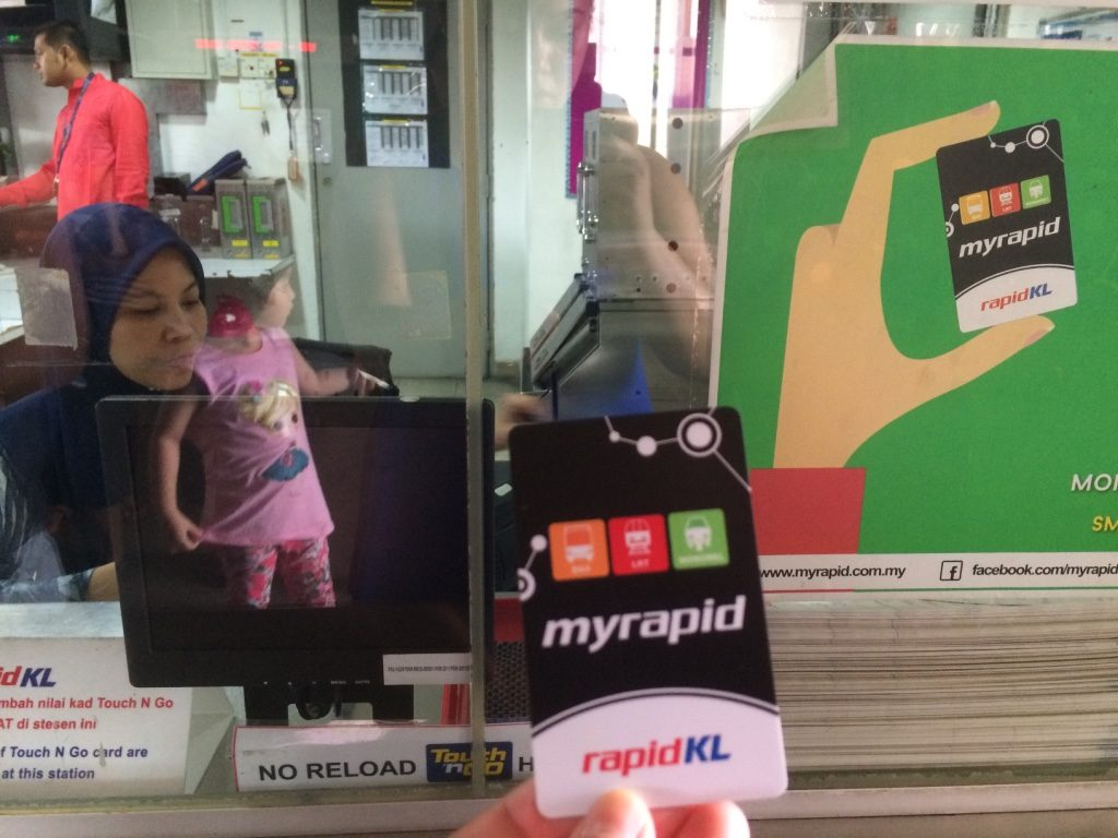 KL myrapid card