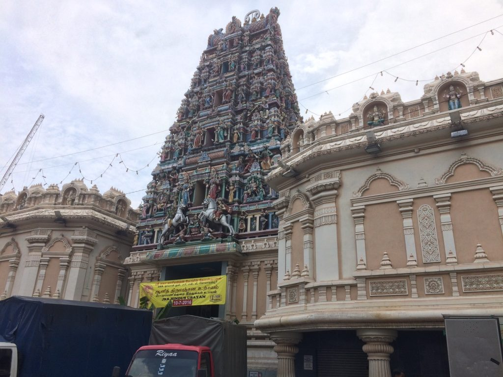 Hindu Temple close to Petaling St.