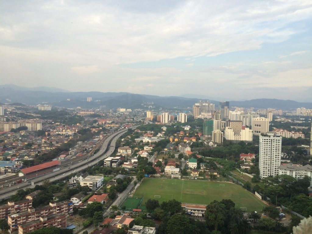 View of KL from the lounge