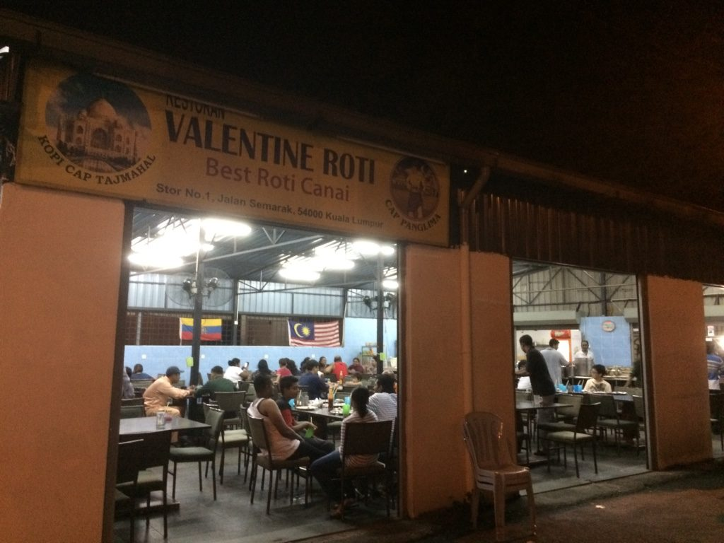 Valentine Roti is open!