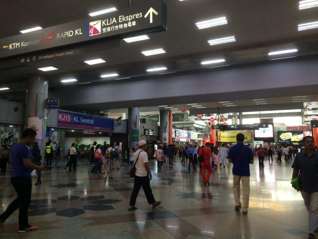 KL Sentral Station