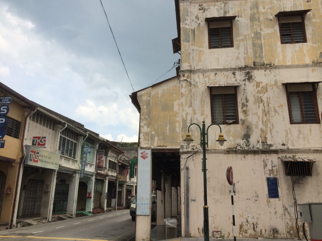 Quiet George Town streets