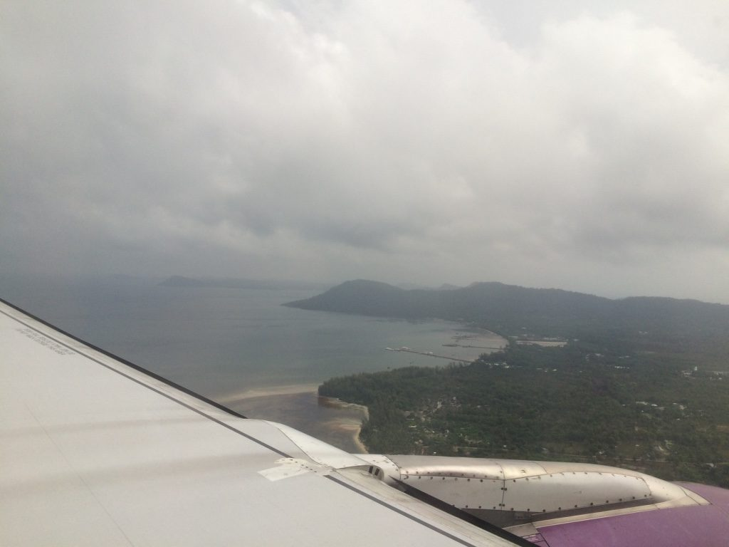 Landing in Phu Quoc, the majority of the island is still very underdeveloped