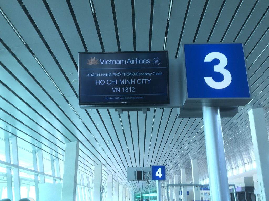 En route to Ho Chi Minh