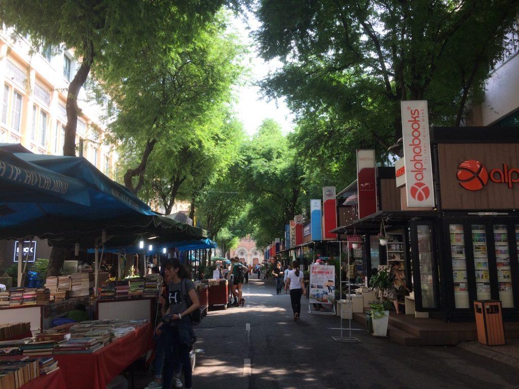Book Street in Saigon