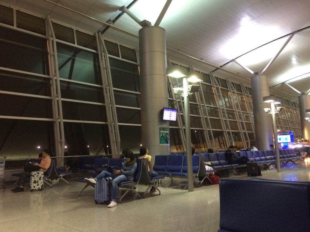 Ho Chi Minh Airport at 4am